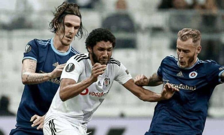 محمد النني مع بيشكتاش في الدوري التركي (صور: Getty)