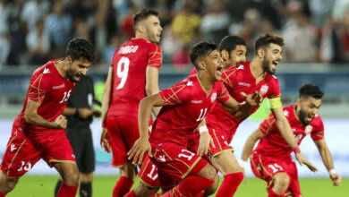 صورة أهداف مباراة العراق والبحرين في خليجي 24