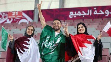 دوحة الجميع .. البحرين والسعودية وقطر يد واحدة في خليجي 24 (صور: AFP)