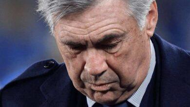 إقالة كارلو أنشيلوتي من تدريب نابولي (صور: AFP)