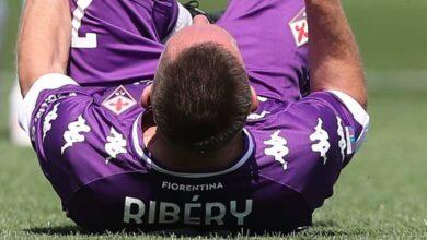 فيورنتينا يعلن موعد عودة ريبيري إلى الملاعب - صور Getty