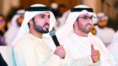 صورة راشد النعيمي رئيساً للجنة الموقتة للاتحاد الاماراتي