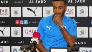 صورة لاعب المنتخب القطري يتمسك بخيار الفوز فقط أمام الامارات في خليجي 24