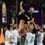 جمال بلماضي يصنع التاريخ مع منتخب الجزائر (صور: Getty)
