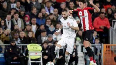 كريم بنزيمة في مباراة ريال مدريد وأثلتيك بلباو (صور: Getty)