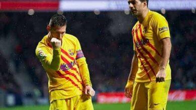 صورة ميسي يُزيح أتلتيكو مدريد ويحول المنافسة لثنائية بين برشلونة وريال مدريد!