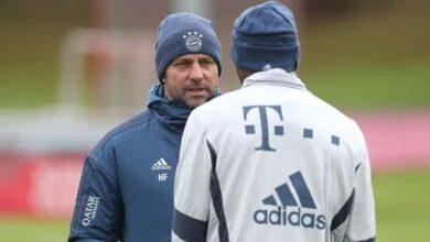 هانز فليك مدرب بايرن ميونيخ يسعى لأستعادة توازن فريقه فى البوندسليجا (صور: Getty)