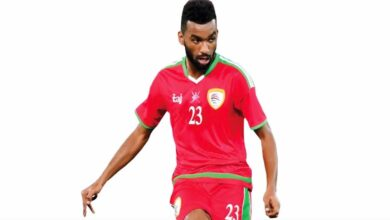حارب جميل لاعب عمان يعتذر للجماهير بعد الخسارة من السعودية