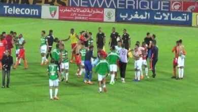 صورة أهداف مباراة الرجاء ونهضة بركان في الدوري المغربي