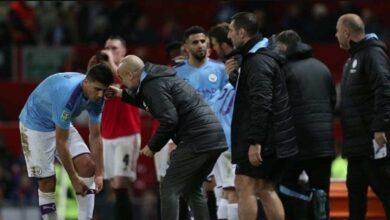جوارديولا يرفض التعجل في مسألة عودة لابورت لدفاع مانشستر سيتي