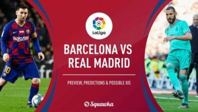 صورة برشلونة وريال مدريد في مواجهات سهلة بدور ال32 من كأس إسبانيا