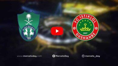 صورة بث مباشر | الأهلي واستقلال دوشنبه في دوري أبطال آسيا
