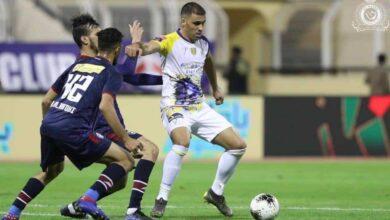 مباراة النصر والعدالة فى كأس خادم الحرمين الشريفين (صور:twitter)
