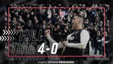 صورة اهداف مباراة يوفنتوس وكالياري فى الدوري الايطالي