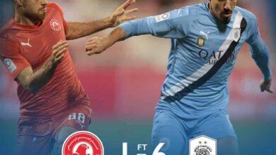 مباراة السد والعربي في دزري نجوم قطر (صور:twitter)