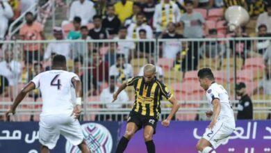 مباراة اتحاد جدة واولمبيك اسفي فى البطولة العربية (صور:twitter)