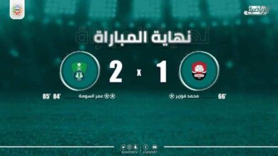 نتيجة مباراة الاهلي والرائد فى الدوري السعودي (صور:twitter)