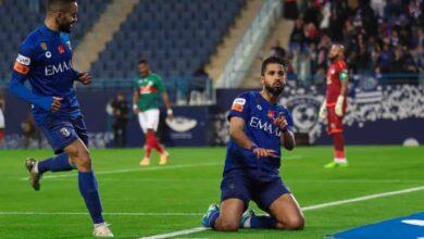 مباراة الهلال والاتفاق فى ربع نهائي كأس خادم الحرمين الشريفين (صور:twitter)