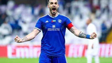 صورة النصر يتوج بكأس الخليج العربي على حساب شباب الأهلي