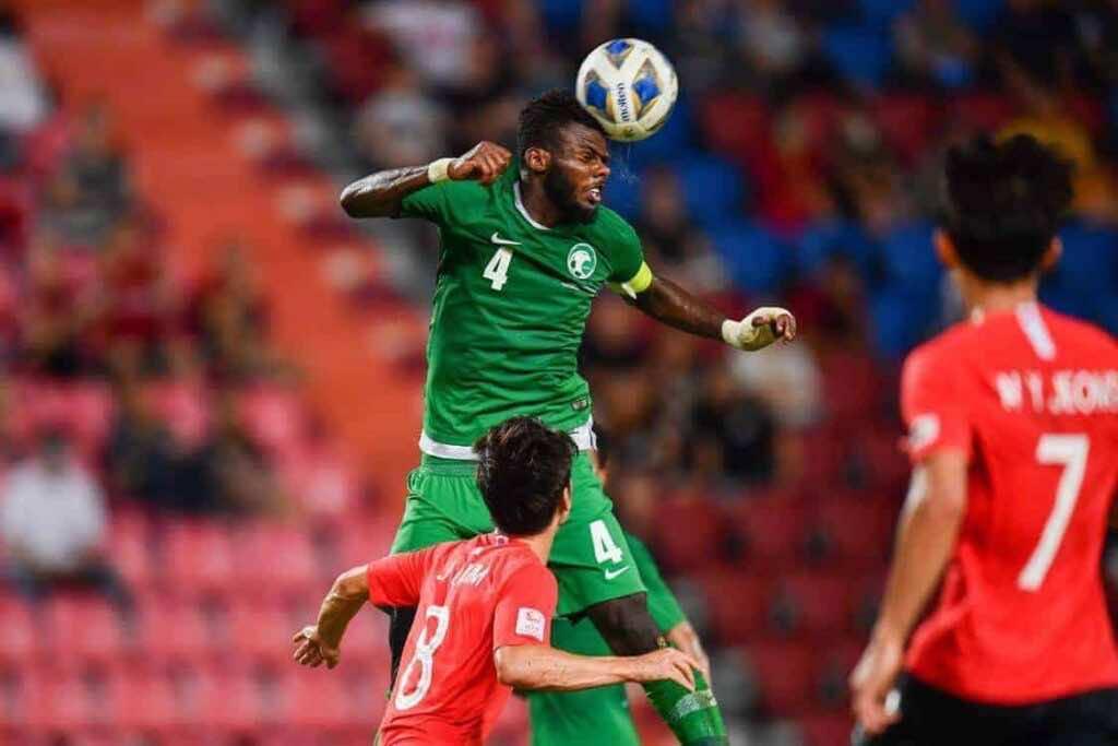 مباراة السعودية وكوريا الجنوبية فى نهائي كأس أمم آسيا تحت 23 عاما (صور:AFC twitter))