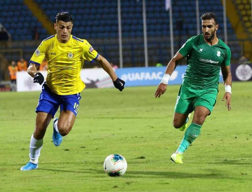 مباراة الاسماعيلي والاتحاد السكندري فى اياب ربع نهائي البطولة العربية (صور:twitter)