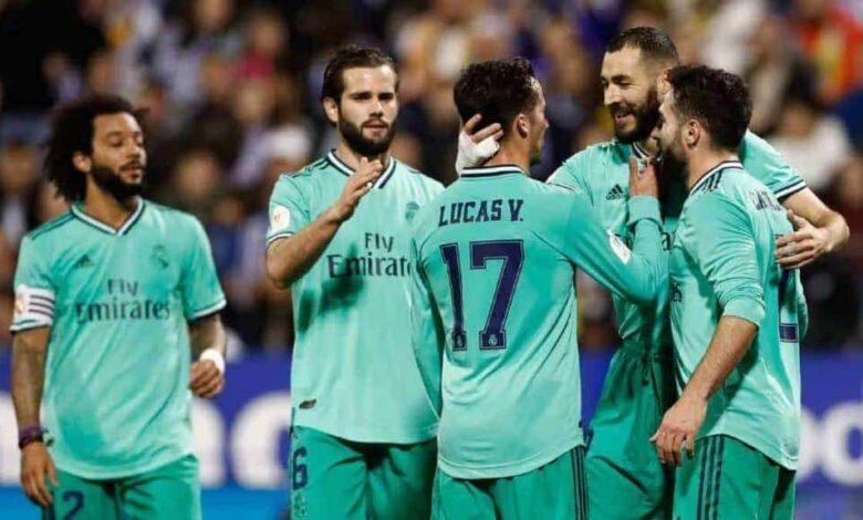 ريال مدريد يسحق سرقسطة برباعية فى كأس ملك اسبانيا (صور:twitter)