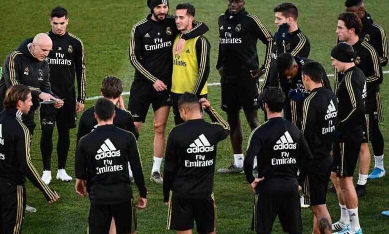 تدريبات ريال مدريد (صور: Getty)