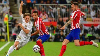 لوكا مودريتش - كأس السوبر الاسباني بين ريال مدريد وأتلتيكو مدريد (صور: Getty)