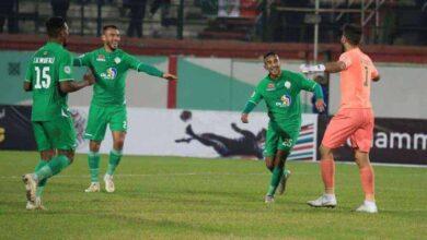 مولودية الجزائر والرجاء في البطولة العربية للأندية 2020 (صور: SPA Spor twitteR)