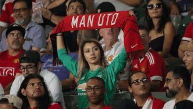 جمهور كرة القدم - مشجعة مانشستر يونايتد (صور: Getty)