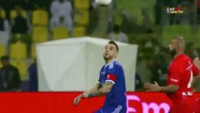 هدف نيجريدو في نهائي كأس الإمارات بين النصر وشباب أهلي دبي (صور: TV)