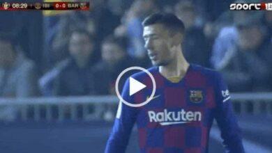 صورة أهداف مباراة برشلونة وإيبيزا في كأس ملك اسبانيا