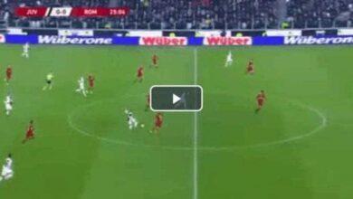 أهداف يوفنتوس وروما في كأس ايطاليا (صور: TV)