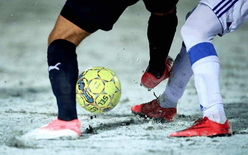 ثلوج كرة القدم (صور: Getty)