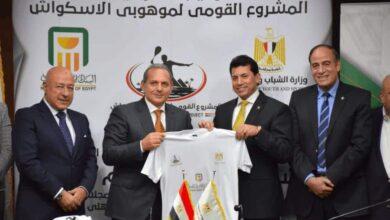 صورة بعد رعايته لـ 8 اتحادات رياضية، البنك الأهلي المصري يُبرم اتفاقية مع وزارة الشباب والرياضة