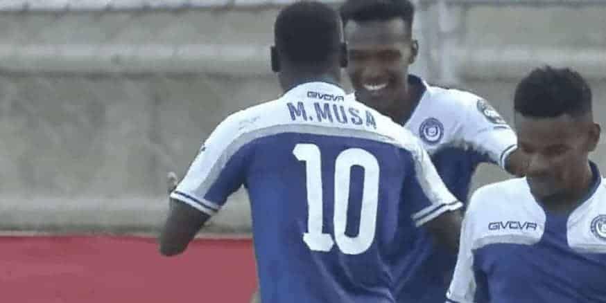 فرحة لاعبو الهلال السوداني بالفوز على بلاتينيوم فى دوري ابطال افريقيا (صور:TV)