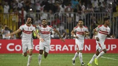 صورة إمام عاشور ينفي تبخر آمال الزمالك في لقب الدوري المصري