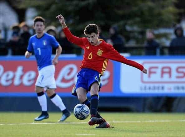 إيفان مورانتي من إحدى مبارياته مع منتخب إسبانيا للشباب (صور: Getty)