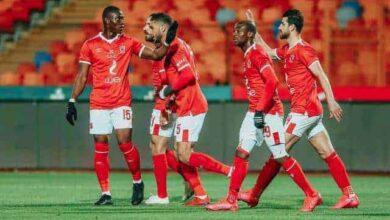 فرحة نجوم الأهلي بالفوز على طلائع الجيش في الدوري المصري الممتاز (صور: Ahlyonline)