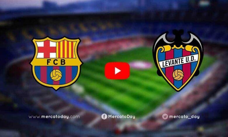 بث مباشر برشلونة وليفانتي (صور: Mercatoday)