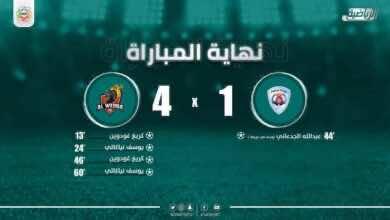 صورة أهداف مباراة الوحدة وأبها فى الدوري السعودى