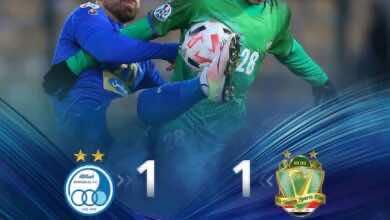 صورة أهداف مباراة الشرطة واستقلال طهران فى دوري أبطال آسيا