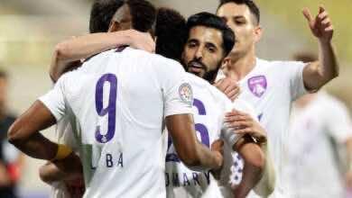 صورة أهداف مباراة العين والفجيرة فى الدوري الإماراتي