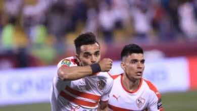 صورة أهداف مباراة الزمالك والترجي فى كأس السوبر الأفريقي