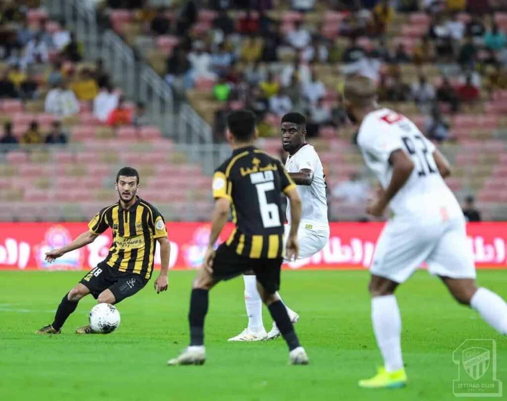 مباراة الاتحاد والشباب فى الدوري السعودي (صور:twitter)