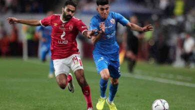 حسين الشحات وأشرف بنشرقي في مباراة الأهلي والزمالك في كأس السوبر المصري 2019 (صور: Getty)