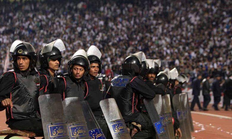أمن ستاد القاهرة الدولي (صور: Getty)