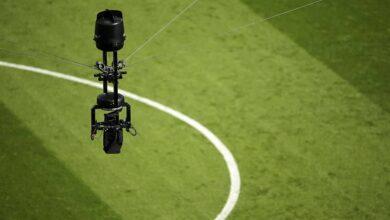 كاميرا العنكبوت في ملاعب كرة القدم (صور: Getty)