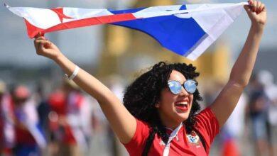صورة لإحدى مشجعات منتخب بنما (صور:MathFuns)