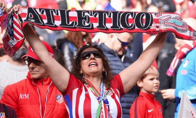 جمهور كرة القدم - مشجعة أتلتيكو مدريد (صور: Getty)